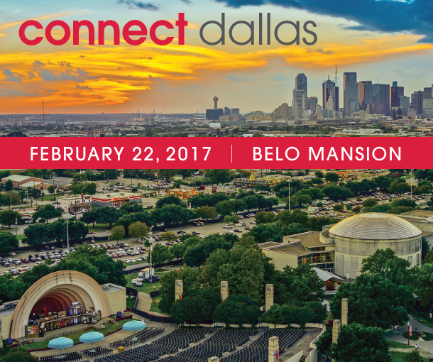 Connect Dallas 2017 on February 22nd at the Belo Mansion