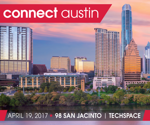 Connect Austin 2017 on Wednesday, April 19, 2017 at TechSpace