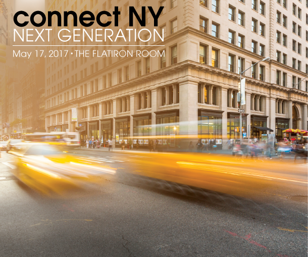 Connect NY NEXT GENERATION on May 17, 2017 at The Flatiron Room