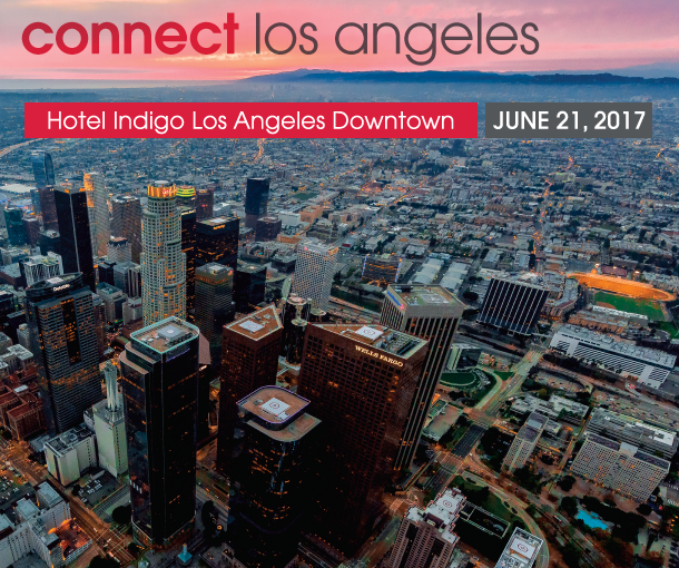 Connect Los Angeles – Wednesday, June 21, 2017 at Hotel Indigo LADT