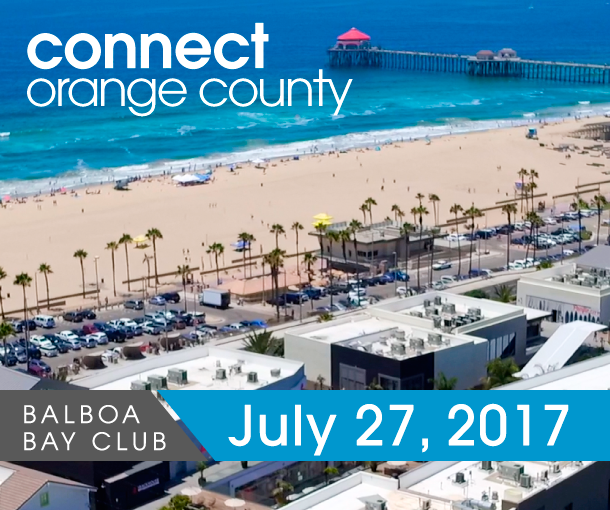 Connect Orange County on July 27, 2017 at Balboa Bay Club