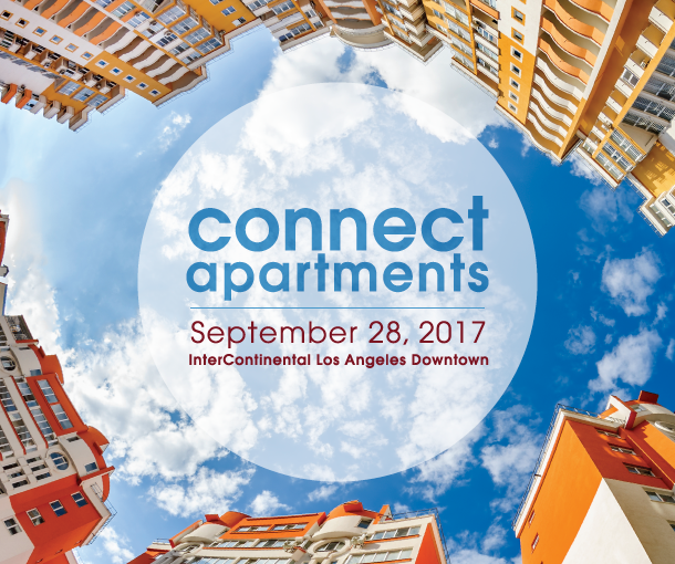 Connect Apartments – Thursday, September 28, 2017 at InterContinental Los Angeles Downtown